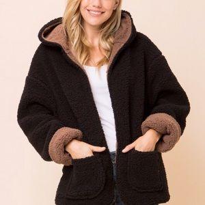 RESTOCKED * CARMELLA | Cozy Reversible Coat